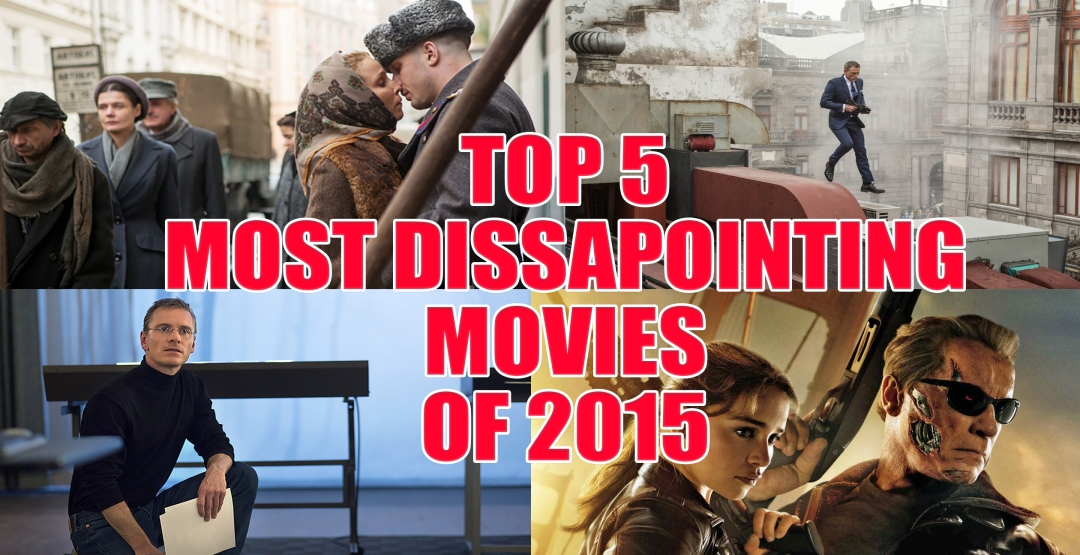 dissapointing movies 2015
