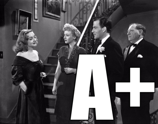 all about eve rating poster