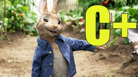 peter rabbit rating poster