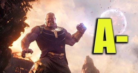 infinity war rating poster