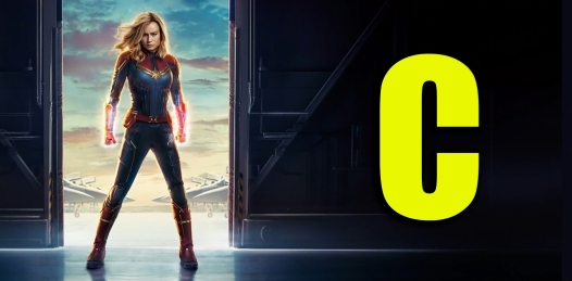 Captain Marvel Rating Poster
